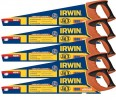 IRWIN Jack 880 UN Universal Panel Saw 500mm (20in) 8tpi (PACK 5) £39.00 Jack New 880un Universal Hand Saw 20in 8t/9p Triple Ground