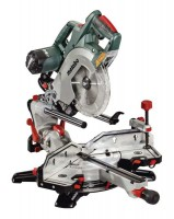 "Metabo KGSV 72 Xact SYM 240V 8"" Double Bevel Sliding Mitre Saw With Symmetrical Fence System £439.00"