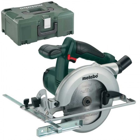 METABO KSA18LTX 18VOLT POWER EXTREME CIRCULAR SAW BODY ONLY WITH METALOC CASE