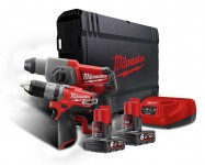 MILWAUKEE M12CPP2B-602C 2 Piece M12 Compact FUEL Power Pack (2 x 6.0Ah) was £359.95 £295.95