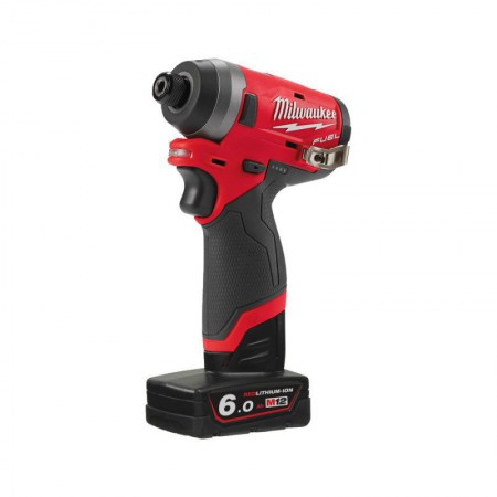 Milwaukee M12FID-602X - M12 12v Gen II Fuel Impact Driver Kit