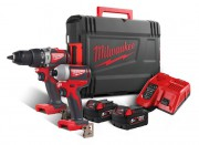 Milwaukee Power Tools M18 BLPP2A2 18V Brushless Twin Pack 2 x 5.0Ah Li-ion £279.95
