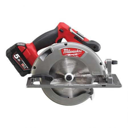 Milwaukee M18 CCS66-502X FUEL Circular Saw 18 Volt 2 x 5.0Ah Li-Ion