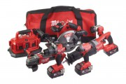 Milwaukee M18FPP6B-503B 18V Fuel 6 x Piece Kit 3 x 18V 5.0Ah Batteries & Bag £899.00