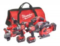 Milwaukee Power Tools M18 FPP6D2-503B FUEL Powerpack 6 Piece Kit 18V 3 x 5.0Ah Li-ion £949.00 The Milwaukee M18 Fpp6d2-503b Fuel™ Powerpack 6 Piece Kit, Contains The Following: