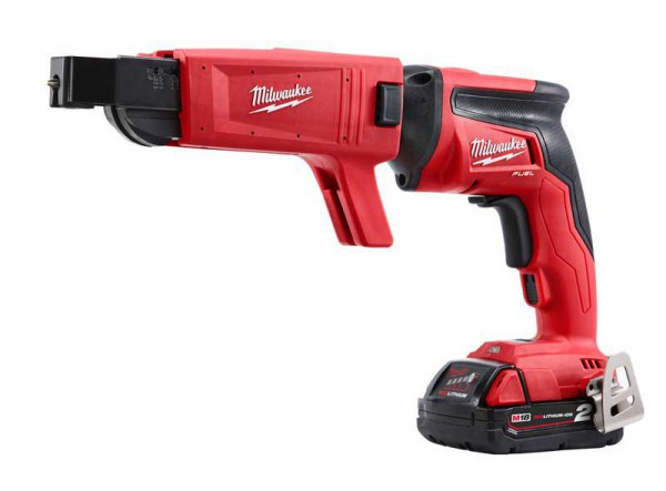 Milwaukee M18FSGC-202X M18 18V Fuel 2 x 2.0Ah Li-ion Drywall Screwgun With Collated Attachment