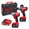 Milwaukee M18 PP2B-502C FUEL Twin Pack 18 Volt 2 x 5.0Ah Li-Ion was £479.95 £419.95 Milwaukee M18 Pp2b-502c Fuel Twin Pack 18 Volt 2 X 5.0ah Li-ion