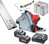 Cordless Plunge and Rail Saws
