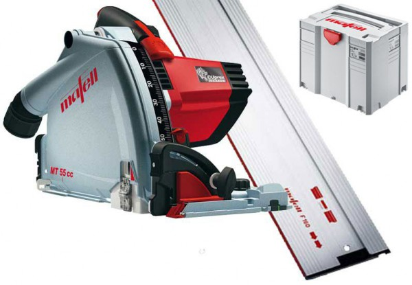 Mafell MT55CC 240VOLT Plunge Cut Saw System With 1.6m Guide Rail