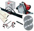 Mafell MT55CC 240v Plunge Saw with 2 X 1.6m Guide Rails  + Connector + 2 X  Clamps & Rail Bag & Extra Blade Worth £59.99 £599.95 Mafell Mt55cc 240v Plunge Saw With 2 X 1.6m Guide Rails  + Connector + 2 X  clamps & Rail Bag & Extra Blade Worth £59.99