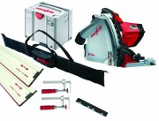 Mafell MT55CC 240v Plunge Saw with 2 x 1.6m Guide Rails  + Connector + 2 x  Clamps & Rail Bag £599.95