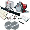 MAFELL MT55CC 240V PLUNGE SAW + 1 x 1.6M & 1 x 800mm GUIDE RAILS  + CONNECTOR + 2 x  CLAMPS & RAIL BAG & SLIDING BEVEL & £629.95 Mafell Mt55cc 240v Plunge Saw With 1 X 1.6m & 1 X 800mm Guide Rails  + Connector + 2 X  Clamps & Rail Bag & Sliding Bevel