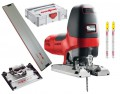 Mafell P1CC 110V 900W Jigsaw In T-LOC Case + Tilting Base & 800mm Guide Rail + Pack CUnex W1 Jigsaw Blades £514.95 Mafell P1cc 110v 900w Jigsaw