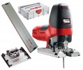 MAFELL P1CC 110V 900W JIGSAW IN MAFELL T-LOC CASE + TILTING BASE & 800mm GUIDE RAIL £514.95 Mafell P1cc 110v 900w Jigsaw