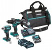 Makita DK0114G20240V MAX XGT 2 Piece Kit with 2x 2.5Ah Batteries, Toolbag and Charger £709.95 Makita Dk0114g20240v Max Xgt 2 Piece Kit With 2x 2.5ah Batteries, Toolbag And Charger