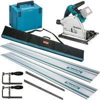 Makita DSP600ZJ 18V LXT 2 x 18v (36V) Brushless Cordless Plunge Saw - Body Only With MakPac Case & Rail Kit £449.95