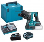 Makita HR003GD101 40V MAX XGT Brushless SDS+ Drill With 1x 2.5Ah Battery, Charger & Adaptor (for LXT) & Case £479.95