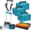 Makita MakPac Trolley With 3 x Size3 MakPac Cases & MakPac Assorted Compartment Insert £179.95 Makita Makpac Trolley