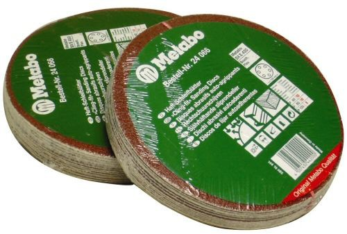 METABO 624066 ASSORTED PACK OF 25 SANDING DISCS FOR SXE450