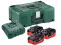 Metabo Basic-Set 3 x 18V LiHD  7.0Ah Battery Packs & ASC Ultra Charger + MetaLoc Case (Class 9 Delivery)  was £399.00 £329.00 Metabo Basic-set 3 X 18v Lihd  7.0ah Battery Packs & Asc Ultra Charger + Metaloc Case (class 9 Delivery)