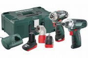 Metabo 10.8V PowerMaxx Combo Set  2.1 Twin Pack BS Quick + SSD £169.95