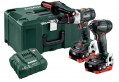 Metabo Combo Set 2.1.15 18V BL LIHD Brushless Cordless Twin Pack with 2 x LiHD 5.5Ah Batteries £399.95 Metabo Combo Set 2.1.15 18 V Bl Lihd Cordless Twin Pack With 2 X Lihd 5.5ah Batteries, Charger And Metaloc Case