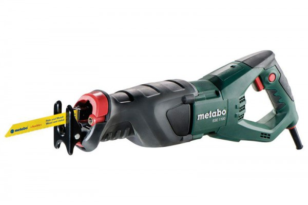 Metabo SSE1100 240V Reciprocating Saw 1100W With Case