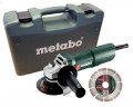 "Metabo W 750-115 240V, 750W 4.5"" Angle Grinder With Restart Protection + Carry case + Diamond Disc £59.95 Metabo W 750-115 240v, 750w 4.5"" Angle Grinder With Restart Protection + Carry Case + Diamond Disc