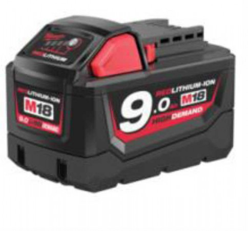 Milwaukee M18B9 18V x 9.0Ah Li-Ion Battery (For Instore or Click & Collect Sales Only!)