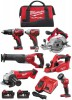 Milwaukee M18BPP7A-402B 18V Brushed 7 x Piece Kit 2 x 4.0Ah Batteries & Bag £949.00 Milwaukee M18bpp7a-402b 18v Brushed 7 X Piece Kit 2 X 4.0ah Batteries & Bag