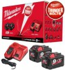 Milwaukee M18NRG-902 M18 18V 9.0Ah Energy Pack - 2 x 9.0Ah Batteries + Charger (For Instore or Click & Collect Sales Onl £359.00 Milwaukee M18nrg-902 M18 18v 9.0ah Energy Pack - 2 X 9.0ah Batteries + Charger