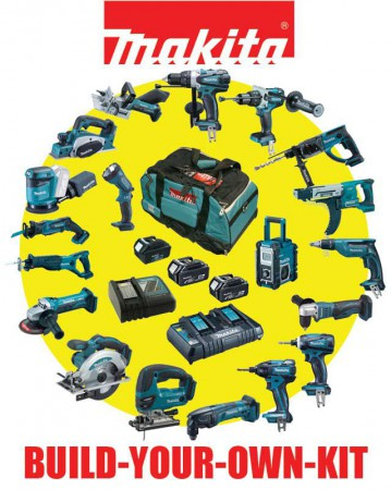 Makita Build Your Own Kit System Makbyokit At Dm Tools