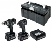 Panasonic EYC225LJ2G31/T Twin Pack : EY79A2 + EY75A7 + 2 x 18v / 5.0Ah batteries + Charger in Systainer £359.00