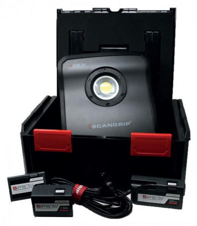 Scangrip SPS 10 10,000 Lumens Work Light ProKit