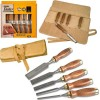 Stanley Tools Bailey Chisel Set of 5 in Leather Pouch £66.99 Stanley Tools Bailey Chisel Set Of 5 In Leather Pouch