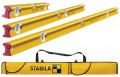 Stabila R-Type 300 Spirit Level Set, 3 Piece (61,122 & 183cm) & 6 Pocket Level Bag Free Worth £47.99 £199.95 Stabila R-type 300 Spirit Level Set, 3 Piece (61,122 & 183cm) & 6 Pocket Level Bag Free Worth £47.99