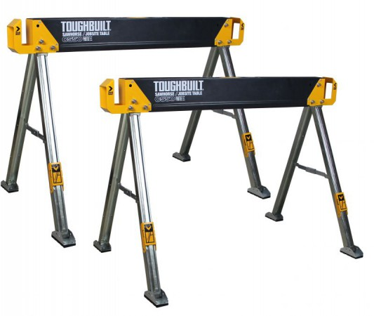 Toughbuilt C550 Sawhorse / Jobsite Table (Twin Pack)