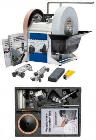 TORMEK T-8 SHARPENING SYSTEM & TNT-708 WOODTURNERS ACCESSORY KIT