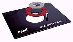 Trend rti router table insert plate trertiplate at dm tools trend rti router table insert plate greentooth Choice Image