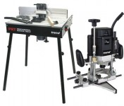 PACK2 T11EK 240V ROUTER & 1/4INCH COLLET & PRT TABLE PACKAGE  £759.95