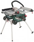 Metabo TS216 240v Table Saw With Integrated Stand & Wheels1500w Blade 216mm £349.00