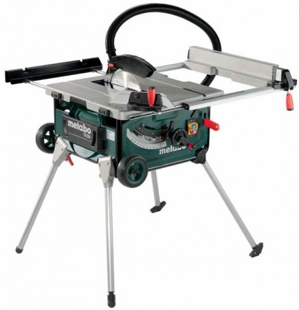 METABO TS254 240V Portable Table Saw With Integrated Stand