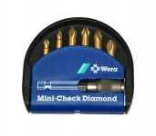Wera Mini-check 7pc Diamond Bit Set Including Quick Release Bit Holder was £12.95 £9.95