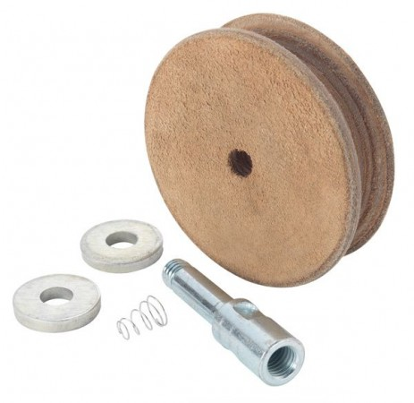 Record Power WG250/N Profiled Leather Honing Wheel For WG250 Wet Stone Grinder.