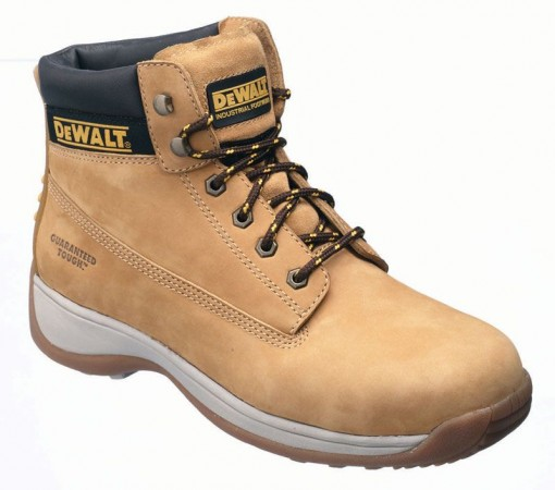DEWALT APPRENTICE SAFETY BOOT HONEY NUBUCK