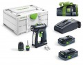 Festool 576436 C 18 HPC 4,0 I-Plus Cordless Drill 2 x 4.0Ah AS Batteries in Systainer SYS3 M 187 + 5.2Ah Battery Worth £ £459.95 Festool C 18 Hpc 4,0 I-plus Cordless Drill 2 X 4.0ah As Batteries In Systainer Sys3 M 187 