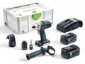 Festool 574699 18V Cordless Drill DRC 18/4 Li 5,2-Set GB 2 X 5.2ah, Angle Attachment £625.95 Festool 574699 18v Cordless Drill Drc 18/4 Li 5,2-set Gb With 2 X 5.2ah Li-ion Batteries With Angle Attachment