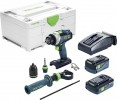 Festool 576773 Cordless percussion drill QUADRIVE TPC 18/4 5,2/4,0 I-Plus £509.95 Festool 576773 Cordless Percussion Drill Quadrive Tpc 18/4 5,2/4,0 I-plus