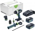 Festool 576775 Cordless percussion drill QUADRIVE TPC 18/4 5,2/4,0 I-Set SCA £639.00 Festool 576775 Cordless Percussion Drill Quadrive Tpc 18/4 5,2/4,0 I-set Sca