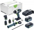 Festool 576776 Cordless percussion drill QUADRIVE TPC 18/4 5,2/4,0 I-Set/XL-SCA £674.95 Festool 576776 Cordless Percussion Drill Quadrive Tpc 18/4 5,2/4,0 I-set/xl-sca